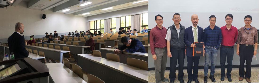 本學系邀請台北醫學大學國際轉譯科學博士學位學程宋賢穎教授蒞校演講